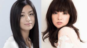 尾野真千子と田中麗奈が並んでこっちを見ている画像