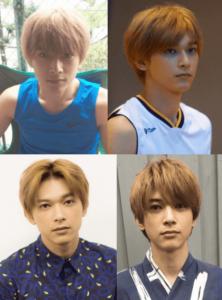 吉沢亮の金髪姿の写真を集めた画像
