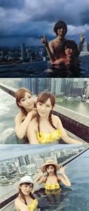 伊野尾慧と明日花キララの熱愛密会の時と同じ日同じ場所で撮られたとされている写真の画像