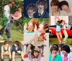 伊野尾慧と有岡大貴(いのありコンビ)の仲良いかわいい写真を集めた画像4