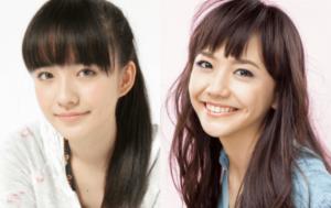 小島藤子と似てる松井愛莉が一緒に並んでいる画像