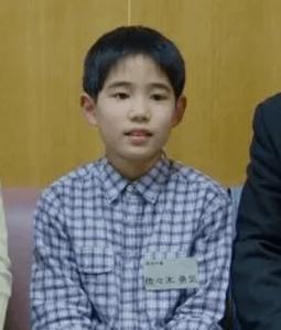 佐々木勇気(五段)の将棋を始める前の小学校時代のかわいい写真の画像