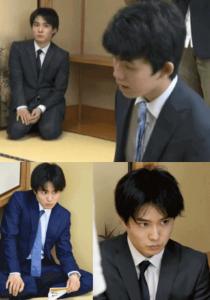 佐々木勇気(五段)が藤井聡太(四段)を観察する目がヤバイと噂の写真を集めた画像
