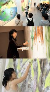 大宮エリーの絵の個展の写真画像1