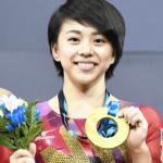 村上茉愛が彼氏でひねり王子の白井健三とカップルで金メダル!プリクラや筋肉の画像も!